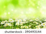 Bright Natural Background With...