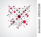 vector abstract background... | Shutterstock .eps vector #390513268