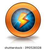 lightning icons badge for game...