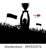 champions cup. poster | Shutterstock .eps vector #390532576