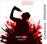 men drink. poster | Shutterstock .eps vector #390532930