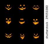 halloween pumpkins background   ...