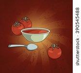 tomato soup. tomatoes  soup...
