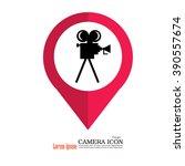 camera.video camera icon.... | Shutterstock .eps vector #390557674