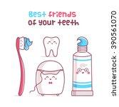 Tooth  Toothpaste  Dental Flos...