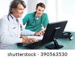 doctor. | Shutterstock . vector #390563530
