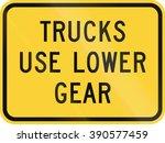 united states mutcd warning... | Shutterstock . vector #390577459