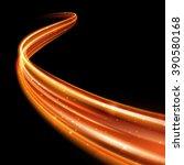 vector magic light line trace... | Shutterstock .eps vector #390580168