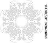 elegant vector ornament in the... | Shutterstock .eps vector #390581146