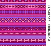 seamless vector tribal texture... | Shutterstock .eps vector #390584764