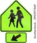 united states mutcd road... | Shutterstock . vector #390597469