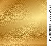 Stock vector vector gold background with pattern 390619714