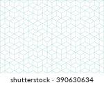 vector cubes geometric... | Shutterstock .eps vector #390630634