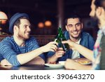 people  leisure  celebration ... | Shutterstock . vector #390643270