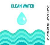 water background illustration | Shutterstock .eps vector #390645904