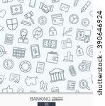 banking and finance wallpaper.... | Shutterstock .eps vector #390646924