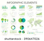 infographics template. set of... | Shutterstock .eps vector #390647026