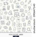 healthcare wallpaper. medical...   Shutterstock .eps vector #390647140
