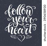 vector illustration  follow... | Shutterstock .eps vector #390658930