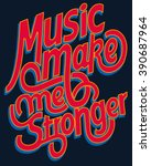 music slogan | Shutterstock .eps vector #390687964