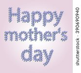 happy mother's day  the... | Shutterstock .eps vector #390690940