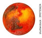 solar system planets   mars.... | Shutterstock . vector #390733624