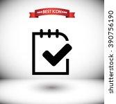 checklist vector icon....