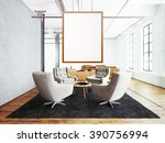 photo of meeting room interior... | Shutterstock . vector #390756994