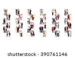 business picture achievement... | Shutterstock . vector #390761146
