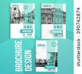 vector brochure cover templates ... | Shutterstock .eps vector #390762874