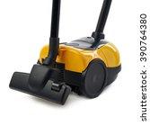 yellow vacuum cleaner over...   Shutterstock . vector #390764380