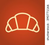 croissant. fast food vector...   Shutterstock .eps vector #390771166