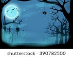 picture of horror | Shutterstock .eps vector #390782500