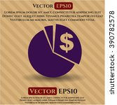 chart symbol | Shutterstock .eps vector #390782578