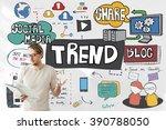 trends social media update... | Shutterstock . vector #390788050