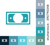 flat icon banknote business... | Shutterstock .eps vector #390790348
