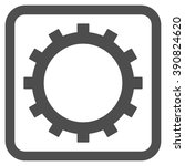 gear vector icon. style is flat ...   Shutterstock .eps vector #390824620