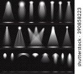 scene illumination collection ... | Shutterstock .eps vector #390858223