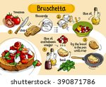 home cooking recipe.  cooking... | Shutterstock .eps vector #390871786