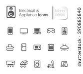 home appliance icon | Shutterstock .eps vector #390883840