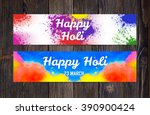 bright colorful banners with... | Shutterstock .eps vector #390900424