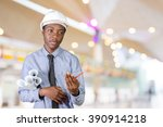 african american man architect | Shutterstock . vector #390914218