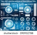 abstract future  concept vector ... | Shutterstock .eps vector #390932788