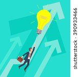 business growth and innovation... | Shutterstock .eps vector #390933466