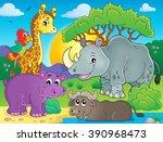 African Fauna Theme Image 3  ...