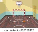 vector flat illustration of... | Shutterstock .eps vector #390973123