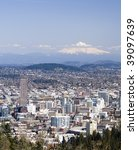 view of portland  oregon from... | Shutterstock . vector #39097639