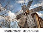 Traditional Romanian Windmill...