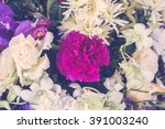 vintage beautiful flower for... | Shutterstock . vector #391003240