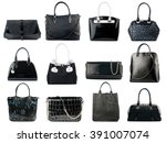 black female handbags...